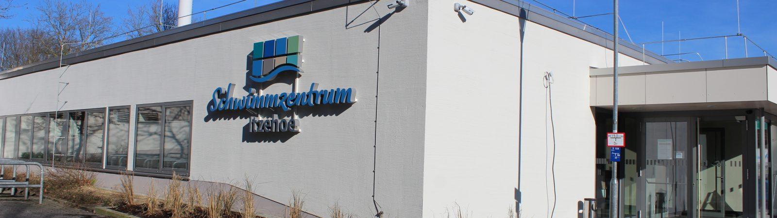 Schwimmzentrum Itzehoe – Außenansicht