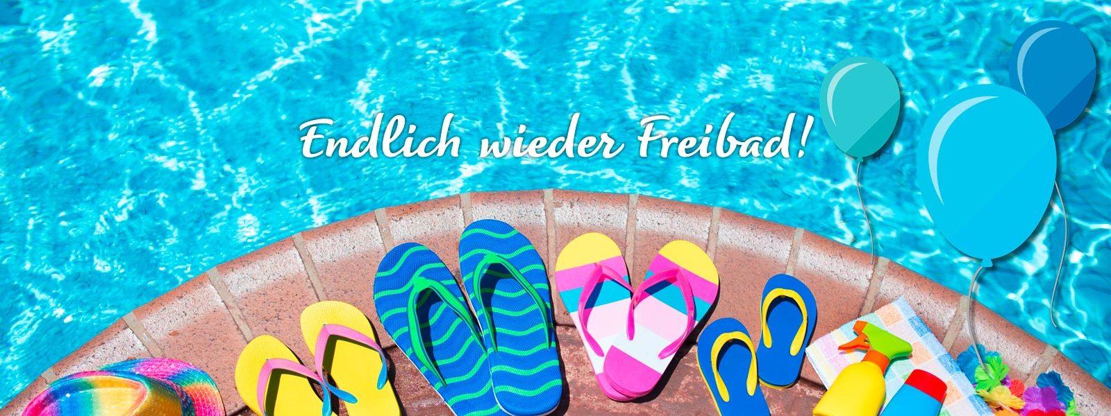 Bereit für die Freibadsaison 2019!
