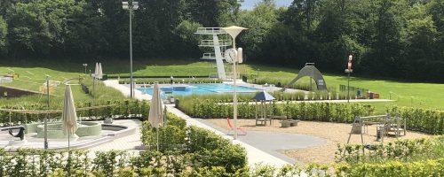 Rutschen, Kleinkindbereich und Nichtschwimmerbecken wieder geöffnet!